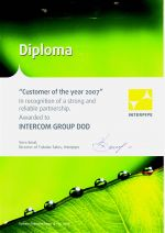 Interpipe - Customer of the year 2007
